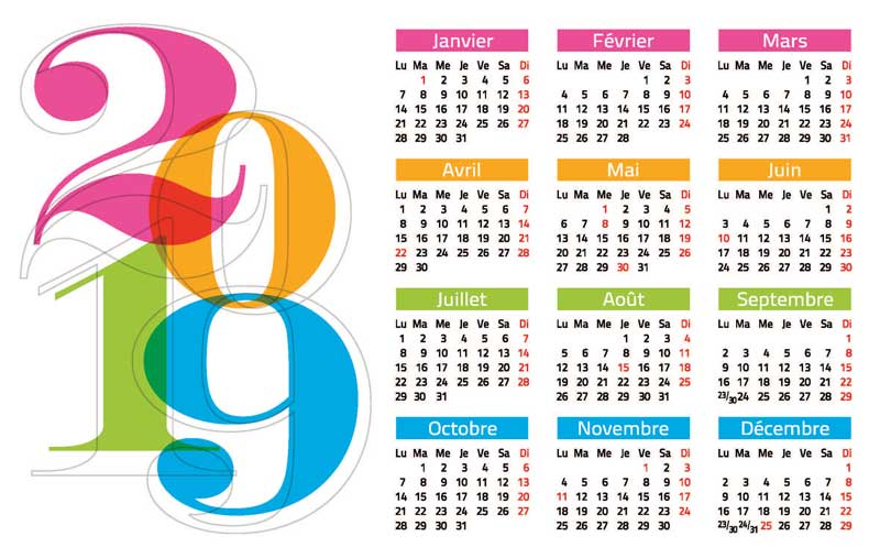 2019-Calendar