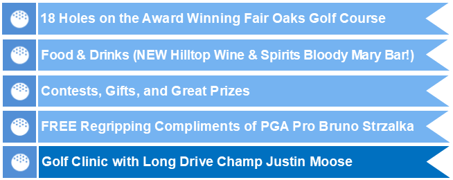 2019 Fayette Cares Golf Tournament Featuresw Long Drive Champ